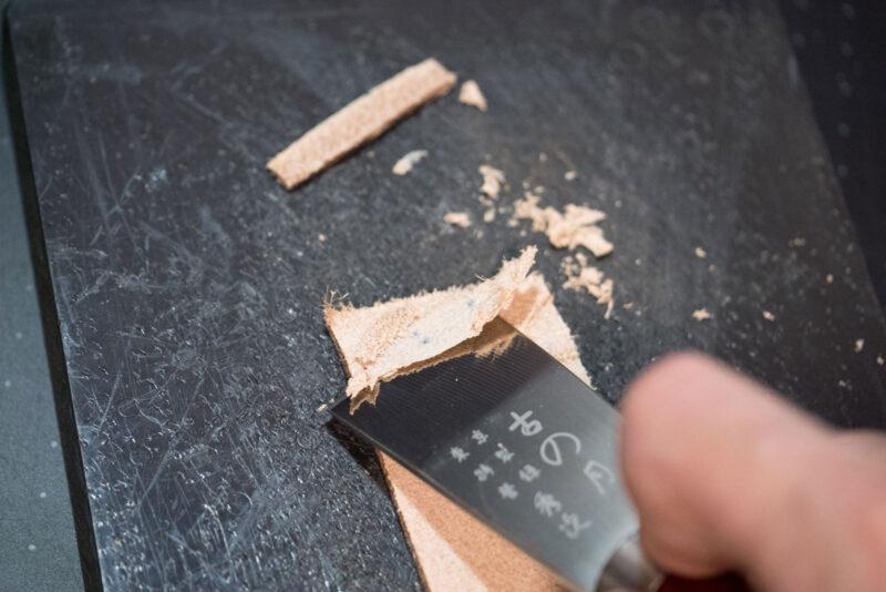 レザークラフト ベルトの作り方 (2)