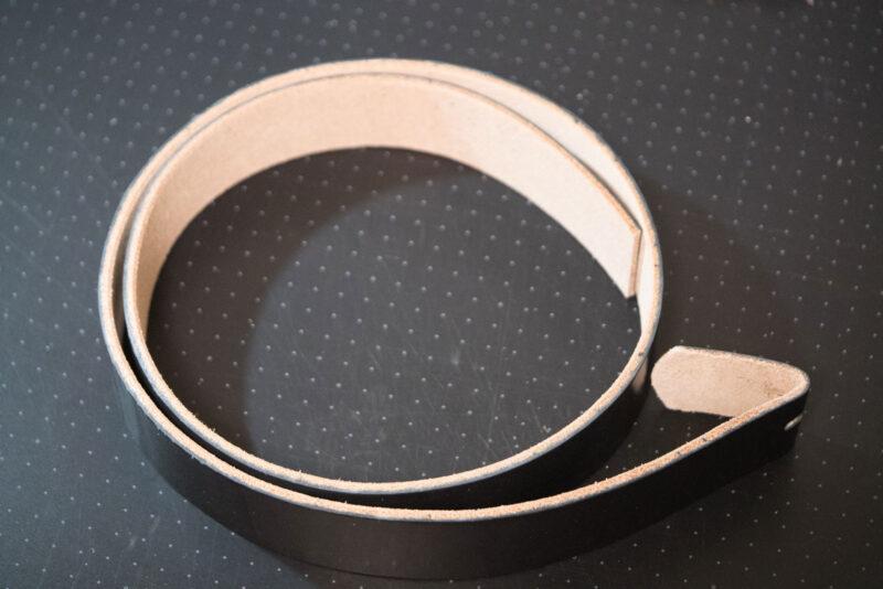 レザークラフト ベルトの作り方 (10)